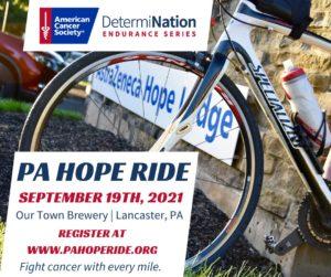 pa hope ride 2021