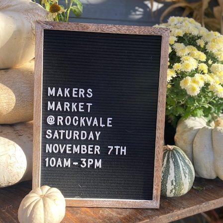 rockvale makers market